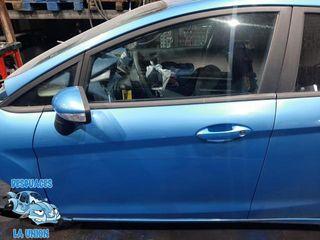 Puerta del. izq. azul Ford Fiesta 5 P año 2009