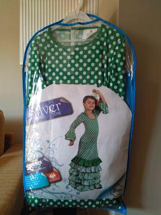Vestido disfraz flamenca / sevillana niña