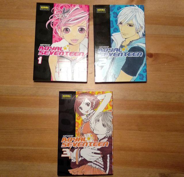 Manga Royal seventeen