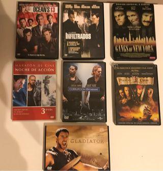 Películas DVD género Acción/Policiaco
