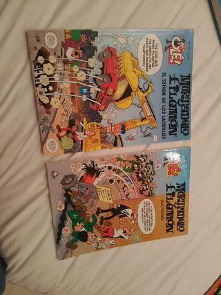 Dos cómics de Mortadelo y Filemon