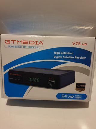 Receptor Satélite GT Media V7S HD