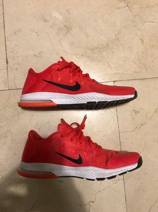 Zapatillas Nike zoom training rojas