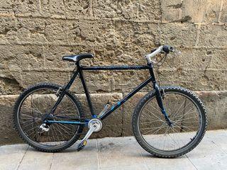 Bicicleta de ciudad y montaña