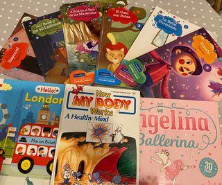 Colección libros infantiles en inglés