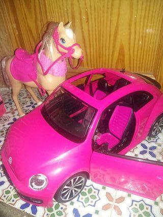 Coche y caballo barbie