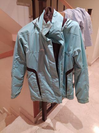 chaqueta de eskiar
