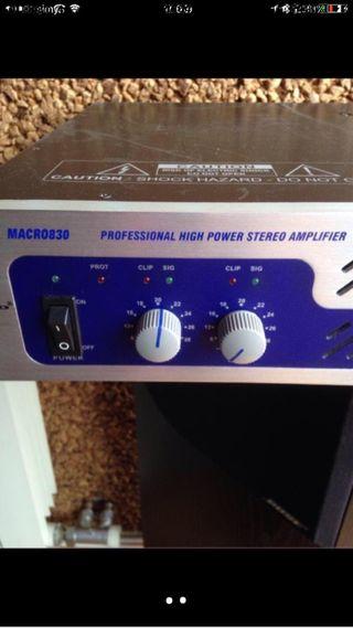 Amplificador de potencia ALTO