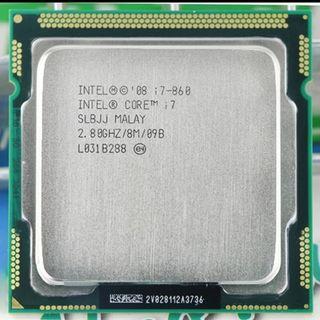 procesador intel i7 860 4 nucleos 8 hilos