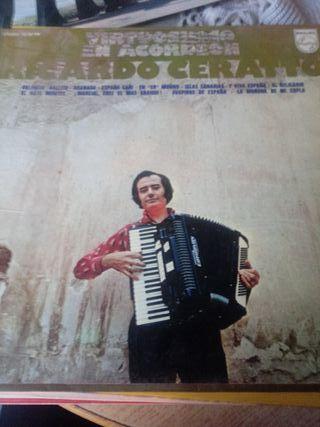 Disco vinilo. Ricardo Ceratto