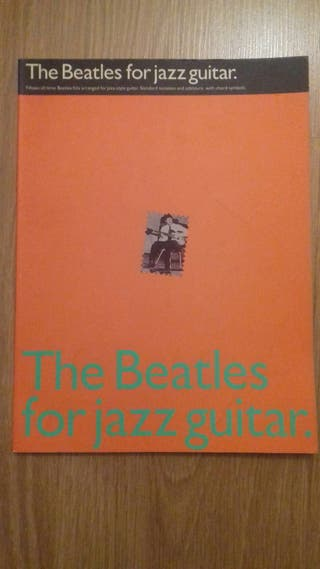 Partituras guitarra jazz beatles