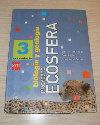 BIOLOGÍA Y GEOLOGÍA 3º SECUNDARIA ECOSFERA SM 2003