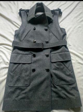 Abrigo chaleco gris Stella Mccartney