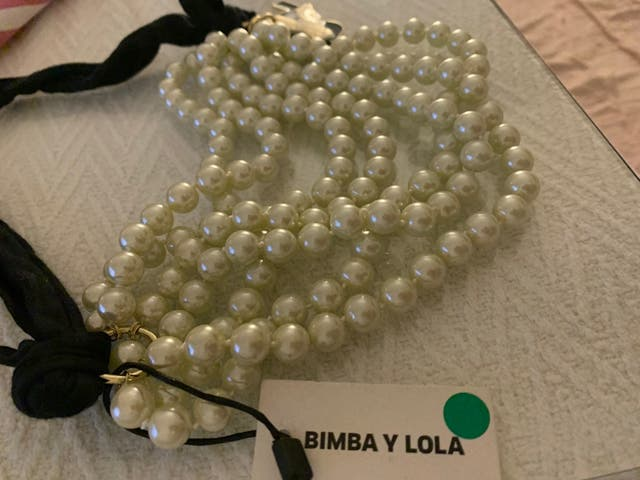 Collar original de Bimba y Lola