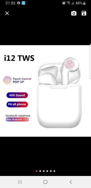 auriculares inhalambricos
