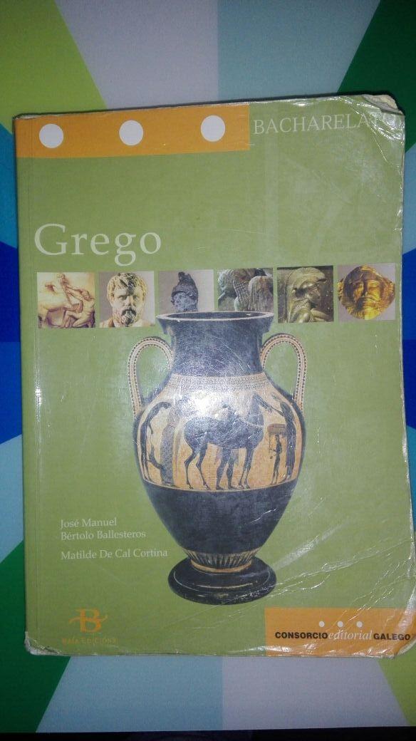Libro de texto de griego para bachillerato