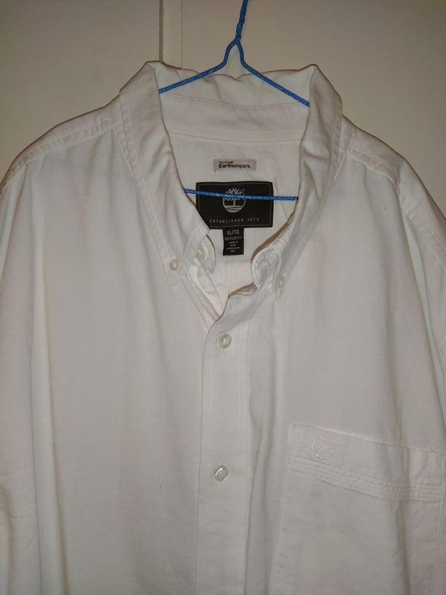 camisa blanca hombre XL