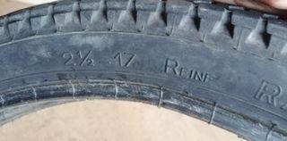 "cubierta 17"" Michelin rápido usado derbi Variant"