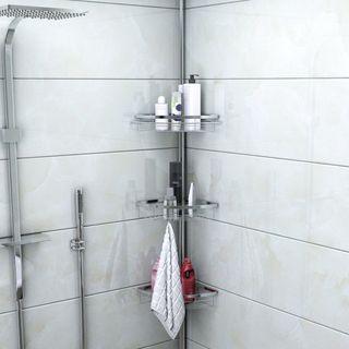Estante esquinero para baño