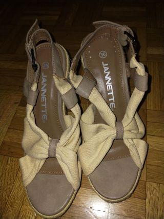 zapatos de tacon, verano