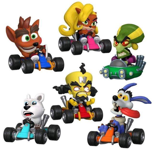 Coleccion Funko POP mini Crash team racing CTR