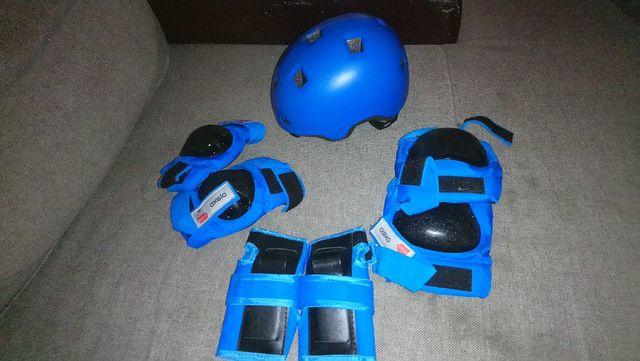equipamiento patinaje