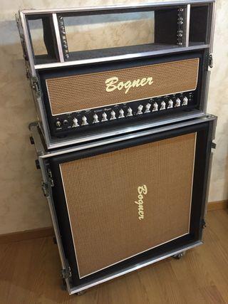 Bogner Ecstasy Head + Bogner 4x12 Straight Cab
