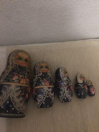 Muñecas rusas Matrioskas