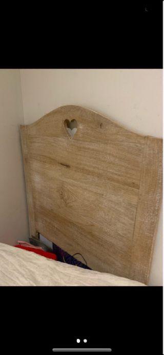 Cabezal de madera maciza Jardin d ulysse 2 unidad