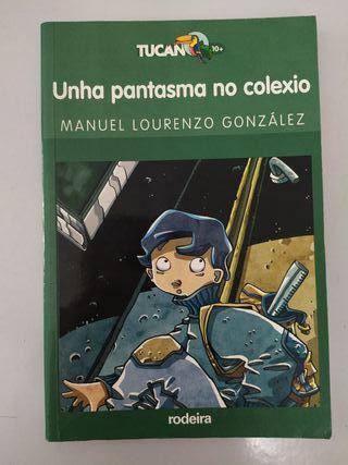 """Libro """"Unha pantasma no colexio"""""""