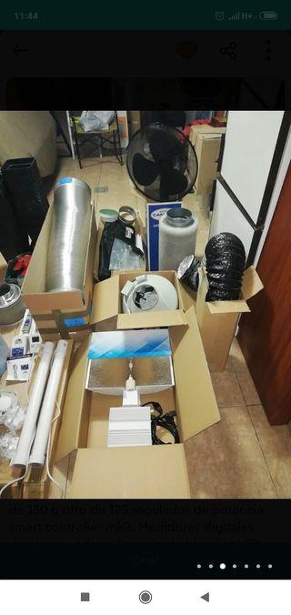 kit completo indoor lec 315w armario 240x200