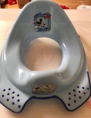 Adaptador wc baño infantil.