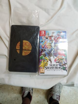 Super Smash bros ultimate + caja metálica