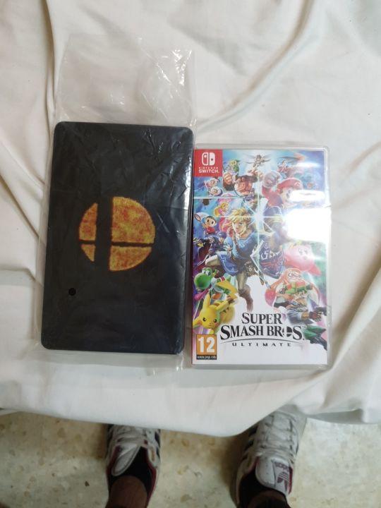 Super Smash bros ultimate + caja metálica