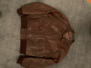 Cazadora piel Ralph Lauren