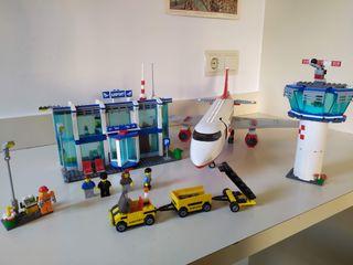 Aeropuerto de Lego City (ref. 3182). 100% completo