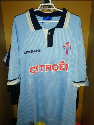 Camiseta antigua celta de Vigo