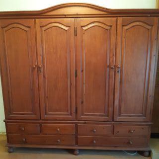 armario ropero cuatro puertas