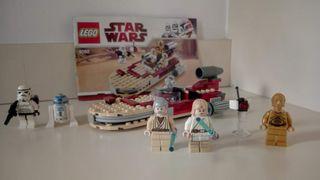 Lego star wars 8092 Luke's Landspeeder. Completo.