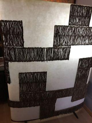 Separador Biombo de estilo colonial