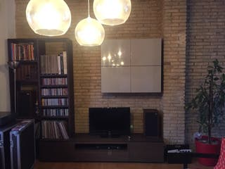 Conjunto estantería y mueble para tv