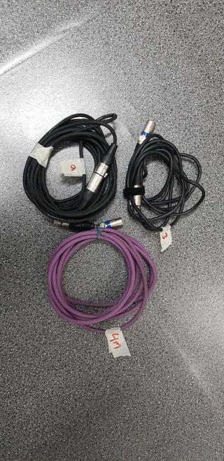 cables xlr