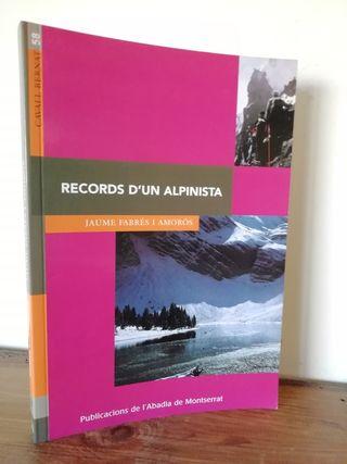 Records d'un alpinista - Jaume Fabrés i Amorós