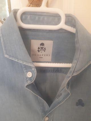 Camisa Scalpers niño t12