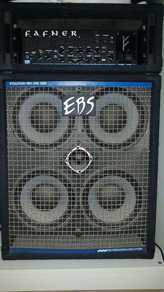 Amplificador EBS y cabezal EBS Fafner II