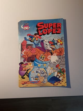 4 cómics superlopez y mortadelo y filemon