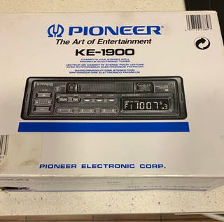 Radio de coche Pioneer KE-1900 + altavoces Kindvox