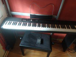 Piano con banqueta 88 teclas