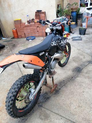KTM exc 250 2t 2008