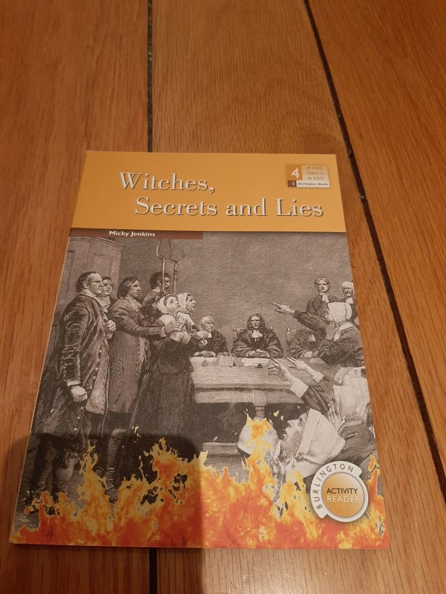Libro witches, secrets and Lies